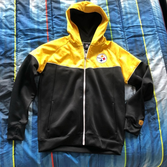 huge discount 877b8 7131e Pittsburgh Steelers zip up hoodie